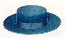 Sombrero hecho a mano integramente con fieltro de pelo. Lo hacemos en una  amplia gama de colores  negro 8b11308aca6